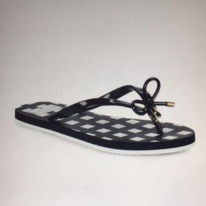 Kate Spade Nova Bow flip flop size 9